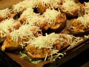 Gefüllte Süßkartoffeln zum Schlemmen