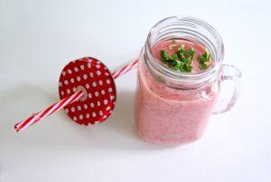 Cremiger Erdbeer-Smoothie1
