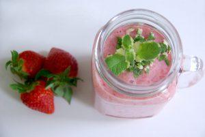 Cremiger Erdbeer-Smoothie2