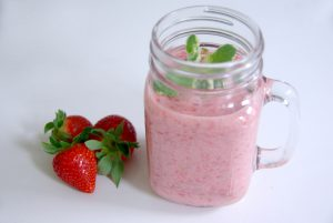 Cremiger Erdbeer-Smoothie3