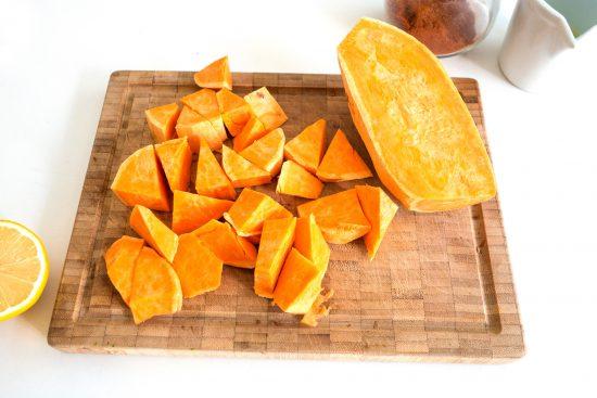 Süßkartoffel-Sommergericht