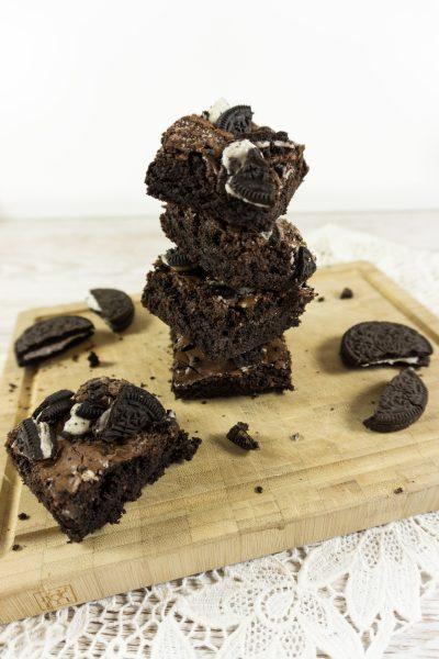 Saftige Oreo-Brownies